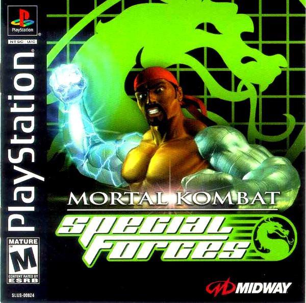 Mortal Kombat - Special Forces [U] [SLUS-00824] front cover