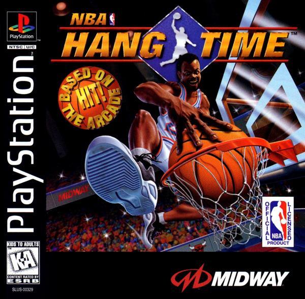 NBA Hangtime [U] [SLUS-00329] front cover