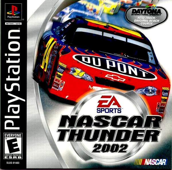 NASCAR Thunder 2002 [U] [SLUS-01403] front cover