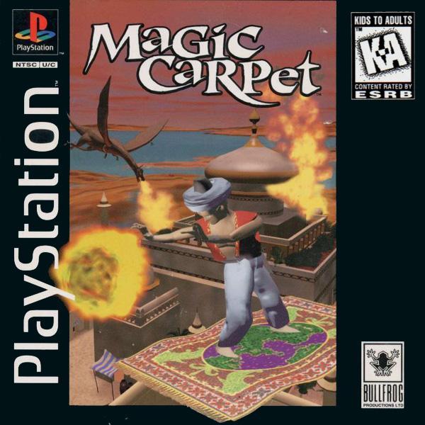 Magic Carpet [U] [SLUS-00029] front cover