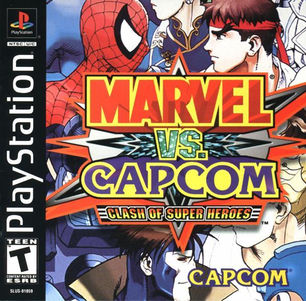 Marvel vs. Capcom - Clash of the Super Heroes [U] [SLUS-01059] front cover