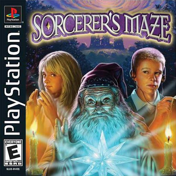 Sorcerer's Maze [U] [SLUS-01495] front cover