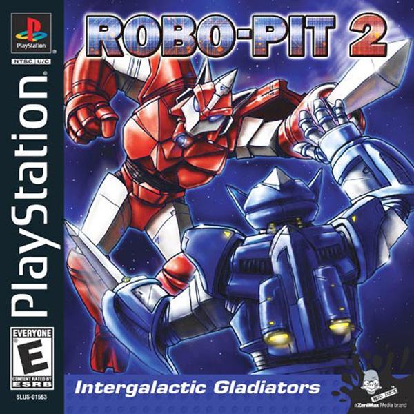 Robo-Pit 2 [U] [SLUS-01563] front cover