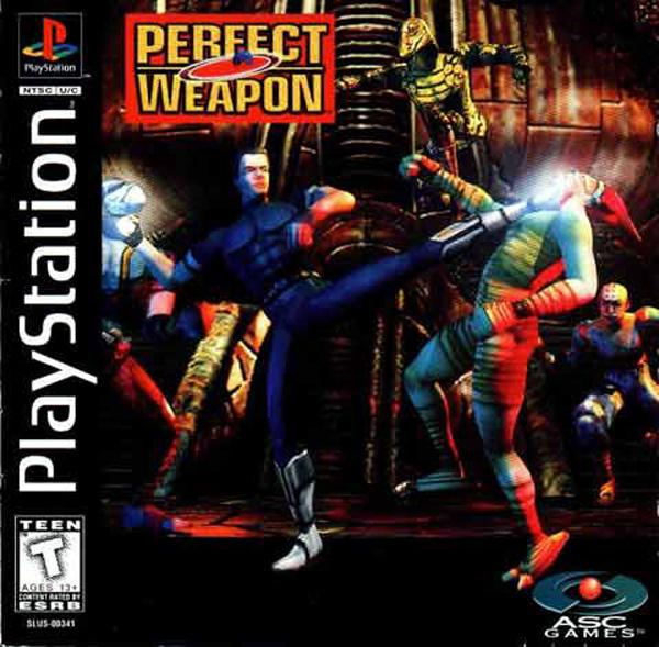 Perfect Weapon [U] [SLUS-00341] front cover