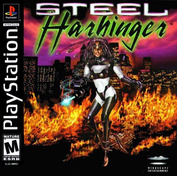 Steel Harbinger [U] [SLUS-00093] front cover