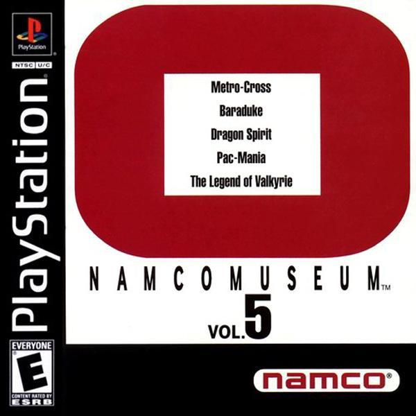 Namco Museum Vol.5 [U] [SLUS-00417] front cover