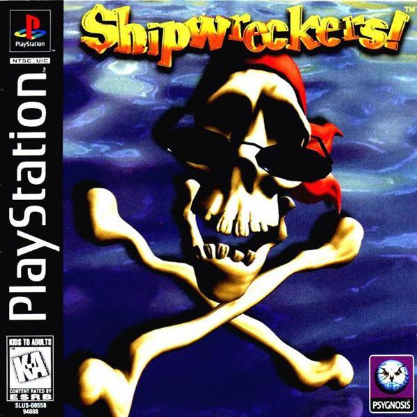 Shipwreckers! [U] [SLUS-00558] front cover