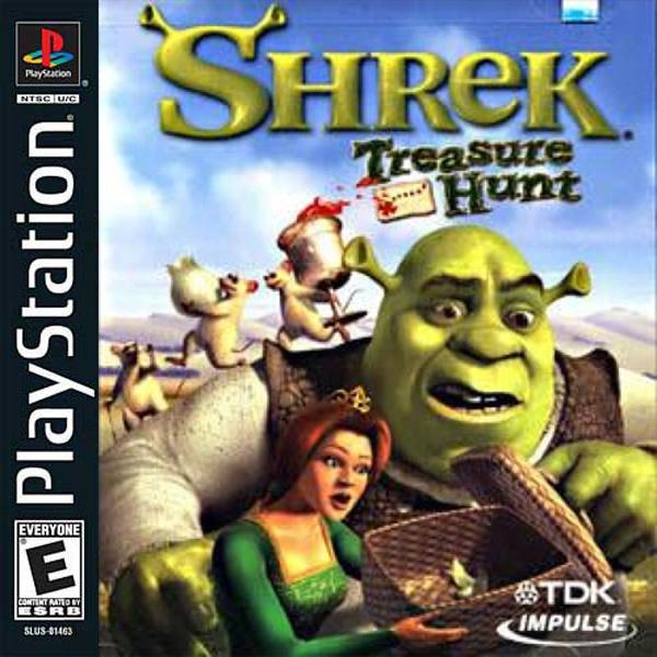 Shrek Treasure Hunt [U] [SLUS-01463] front cover