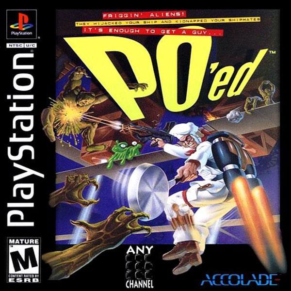 PO'ed [U] [SLUS-00097] front cover