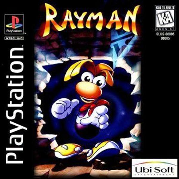 Rayman [U] [SLUS-00005] front cover