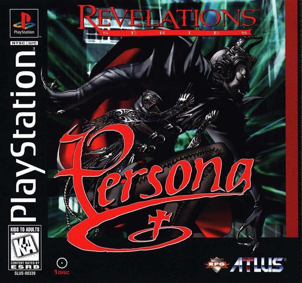 Persona - Revelations [SLUS-00339] front cover