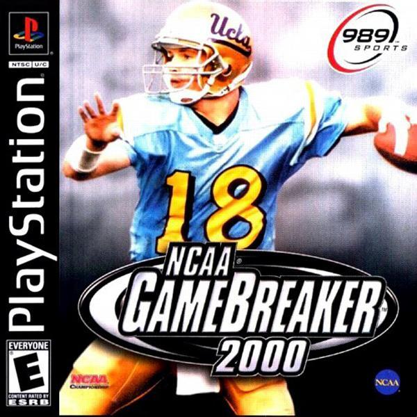 NCAA Gamebreaker 2000 [SCUS-94557] front cover