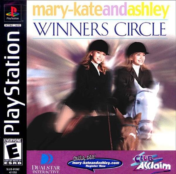 Mary-Kate & Ashley - Winners Circle [U] [SLUS-01362] front cover