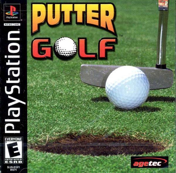 Putter Golf [U] [SLUS-01371] front cover