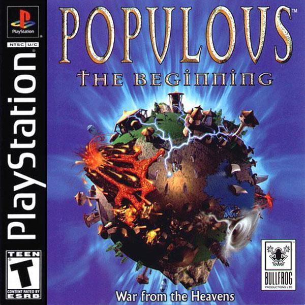 Populous - The Beginning [U] [SLUS-00277] front cover