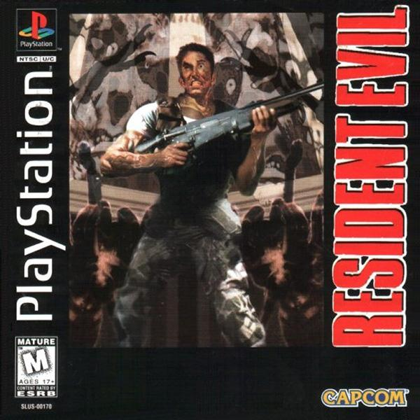 Resident Evil [U] [SLUS-00170] front cover