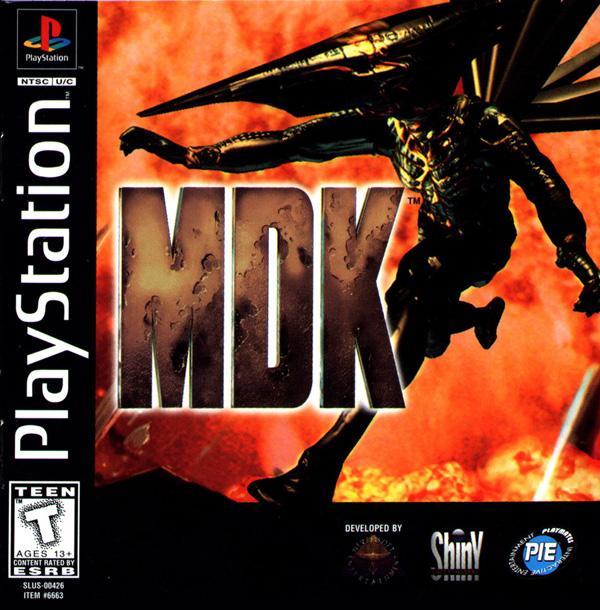 MDK [U] [SLUS-00426] front cover