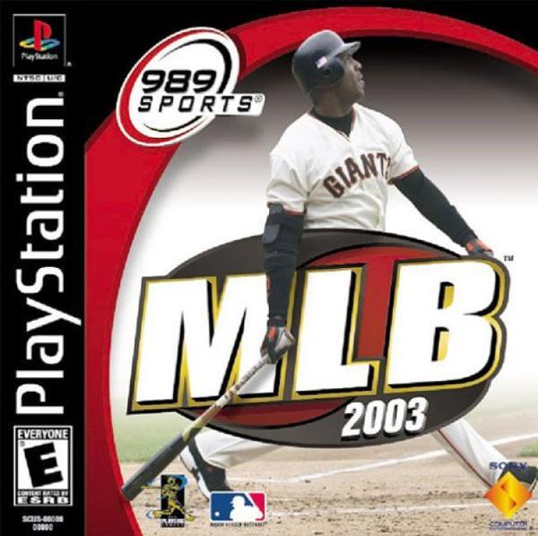 MLB 2003 [U] [SCUS-94653] front cover