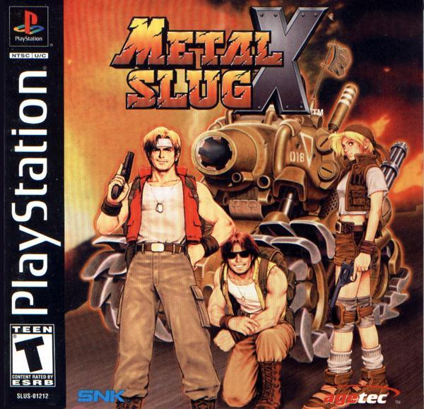 Metal Slug X [U] [SLUS-01212] front cover