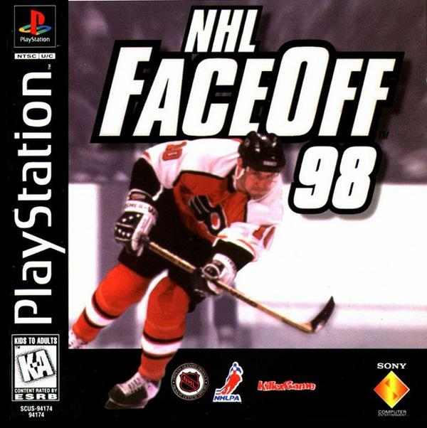 NHL Faceoff '98 [U] [SCUS-94174] front cover