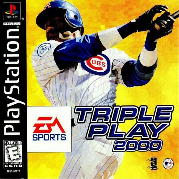 Triple Play 2000 [U] [SLUS-00827] front cover