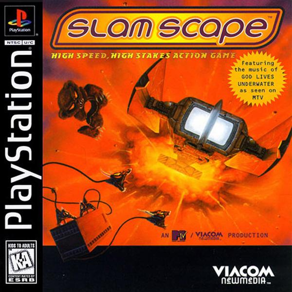Slamscape [U] [SLUS-00080] front cover