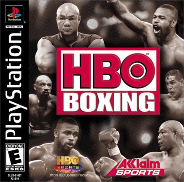 HBO Boxing [U] [SLUS-01027] front cover