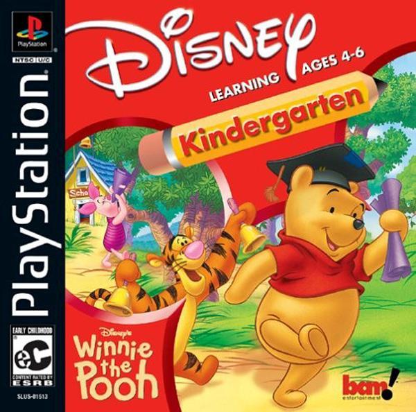 Winnie the Pooh - Kindergarden [U] [SLUS-01513] front cover