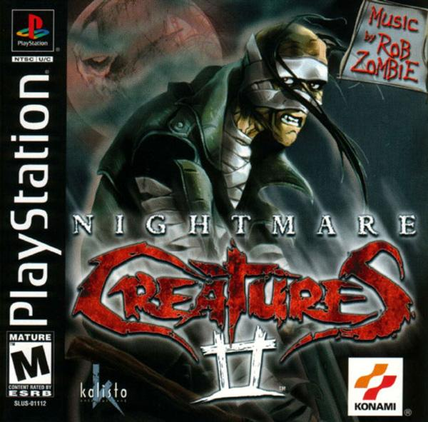 Nightmare Creatures II [U] [SLUS-01112] front cover