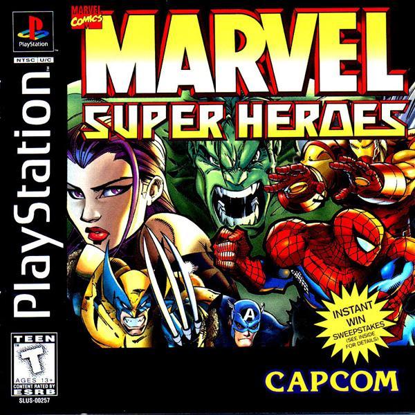Marvel Super Heroes [U] [SLUS-00257] front cover