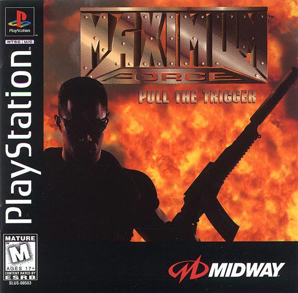 Maximum Force [U] [SLUS-00503] front cover