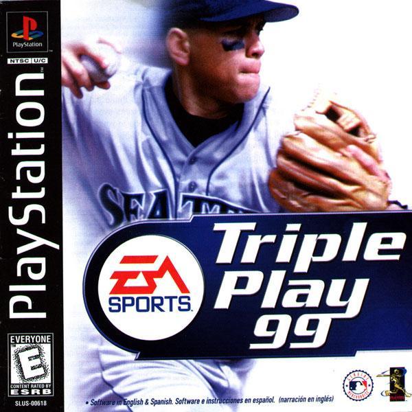 Triple Play '99 [U] [SLUS-00618] front cover