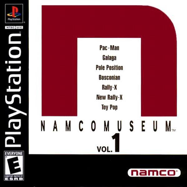 Namco Museum Vol.1 [U] [SLUS-00215] front cover