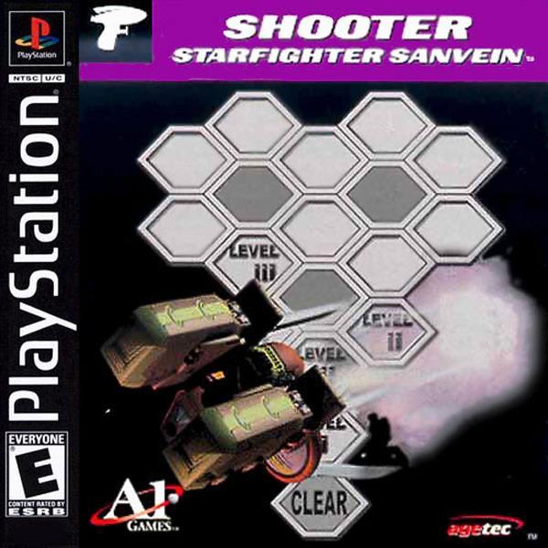 Starfighter Sanvein [U] [SLUS-01302] front cover