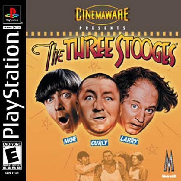 Three Stooges, The [U] [SLUS-01486] front cover