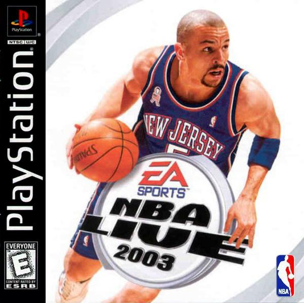 NBA Live 2003 [U] [SLUS-01483] front cover