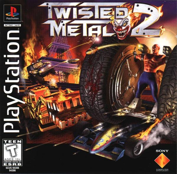 Twisted Metal 2 [U] [SCUS-94306] front cover