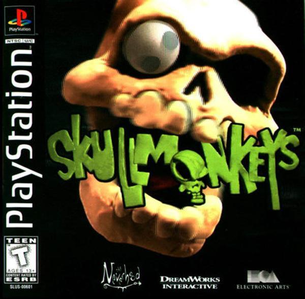 Skullmonkeys [U] [SLUS-00601] front cover