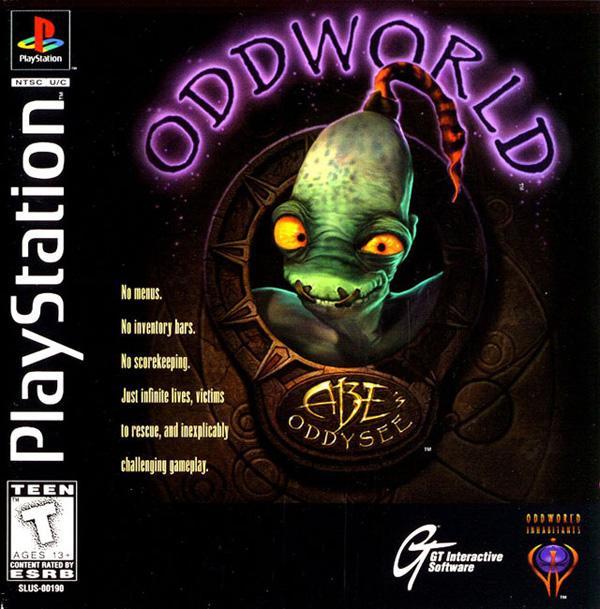 Oddworld - Abe's Oddysee [U] [SLUS-00190] front cover