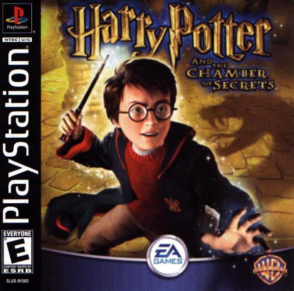 Harry Potter and The Chamber of Secrets [U] [SLUS-01503] front cover