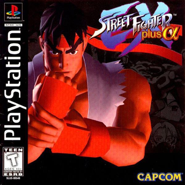Street Fighter EX plus Alpha [U] [SLUS-00548] front cover