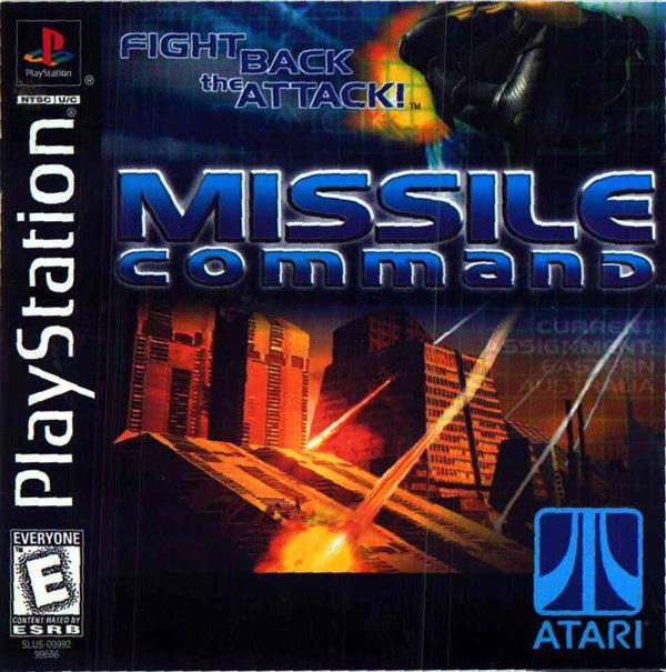 Missile Command [U] [SLUS-00992] front cover