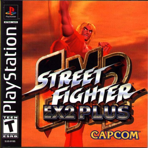 Street Fighter EX2 Plus [U] [SLUS-01105] front cover