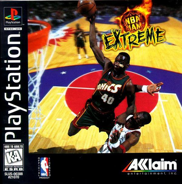 NBA Jam Extreme [U] [SLUS-00388] front cover