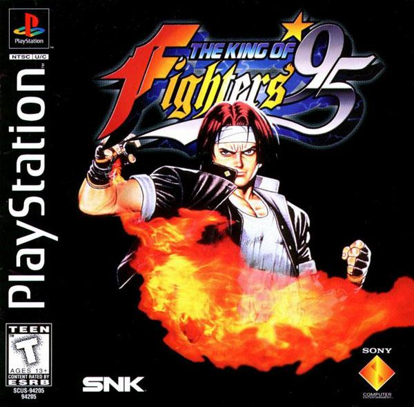 King of Fighters '95 [U] [SCUS-94205] front cover