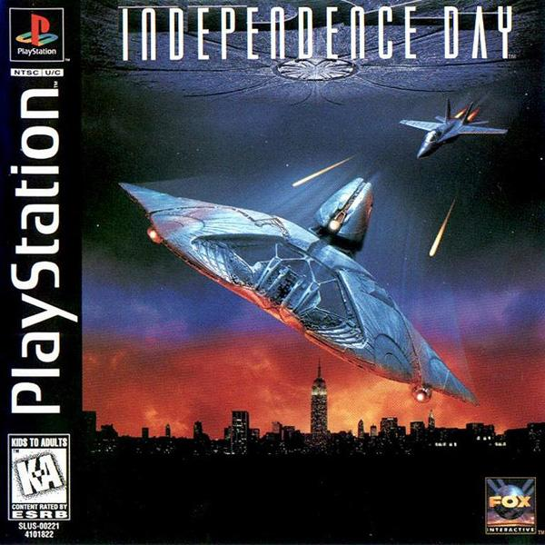 Independence Day [U] [SLUS-00221] front cover