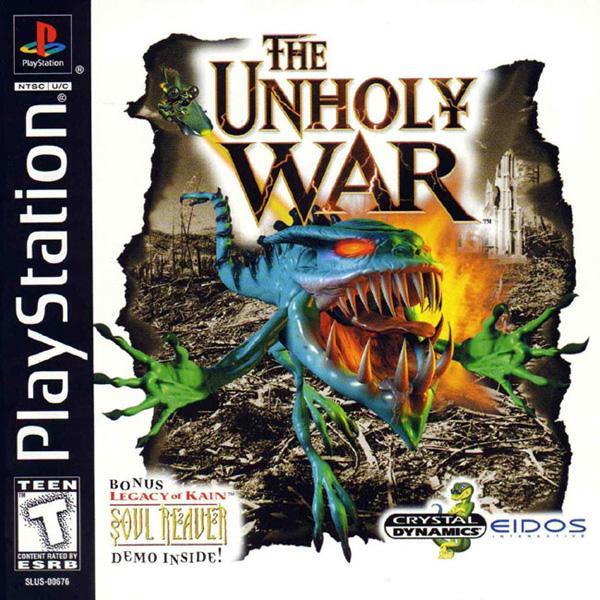 Unholy War_ The [U] [SLUS-00676] front cover