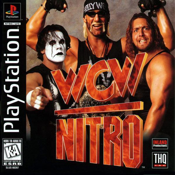 WCW Nitro [U] [SLUS-00397] front cover