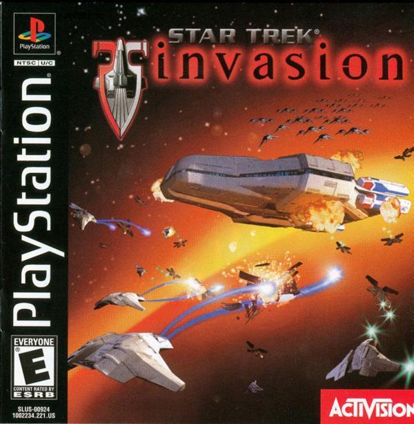 Star Trek - Invasion [U] [SLUS-00924] front cover