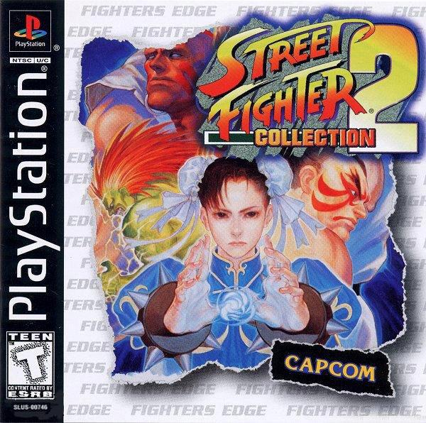 Street Fighter Collection 2 [U] [SLUS-00746] front cover